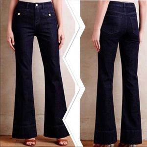 Superscript Wide Leg Jeans